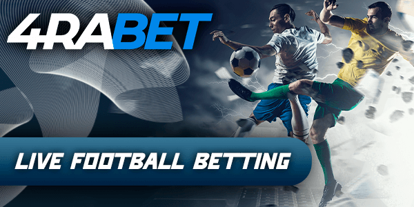 4rabet in-play betting on Football